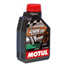 Motul Fork Oil Medium 10W Factory Line - Road & Off Road - 1 Litre
