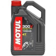 Motul 300V 4T Factoryline 10W40 4-Stroke Oil - 4 Litre