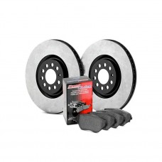 Centric 909.58002 Disc Brake Pad and Rotor Kit Front
